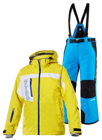 Костюм горнолыжный 8848 Altitude Coy/Mowat детский Yellow/Blue