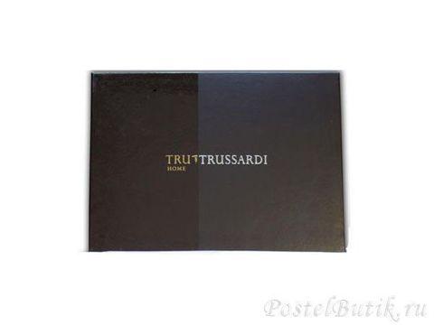 Элитный халат махровый Look лосось от Trussardi