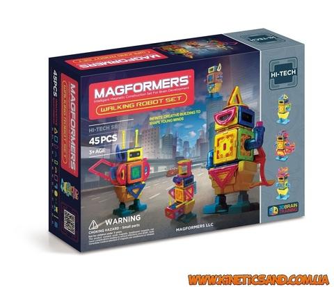 Magformers Шагающий робот, 45 элеметов