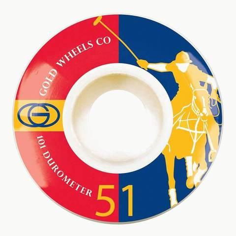 Колёса GOLD WHEELS Karat Club (Red/Blue) 101A