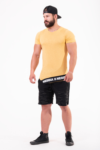 Мужская футболка Nebbia 140 mustard