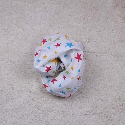 Простынка детская в кроватку Разноцветны звездочка