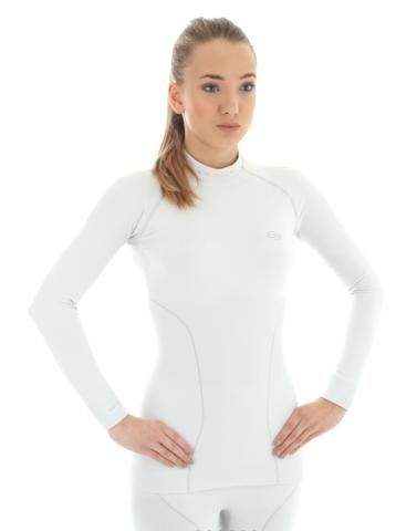 Термобелье рубашка женская Brubeck Thermo (белый) распродажа
