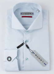 Рубашка Ledub slim fit 0136793-510-000-000-SF-Green