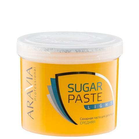 Паста сахарная Легкая средняя для депиляции 750г Аравия