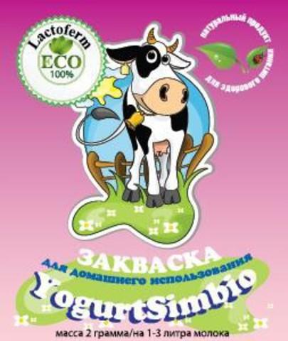 Закваска для приготовления YogurtSimbio