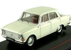 Moskvich-408 white 1968 IST102 IST Models 1:43