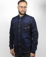 Моторубашка John Doe Motorshirt DENIM, тёмно-синий
