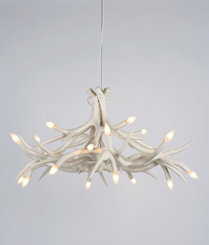ROLL & HILL  Superordinate Antler Chandelier - 12 Antlers