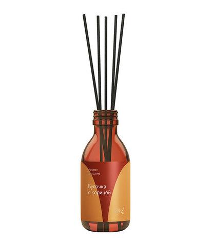 Диффузор ароматический с палочками Булочка с корицей, Библиотека ароматов