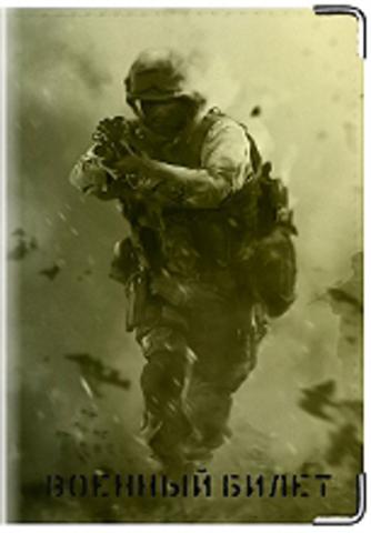 """Обложка для военного билета """"Десант"""""""