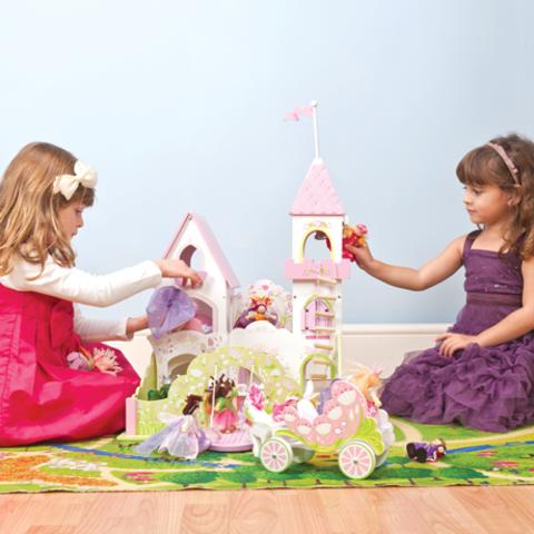Le Toy Van. Замок для девочек