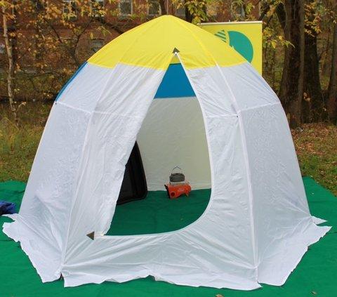 Палатка зимняя СТЭК Классика (4-местная) алюминиевая звезда