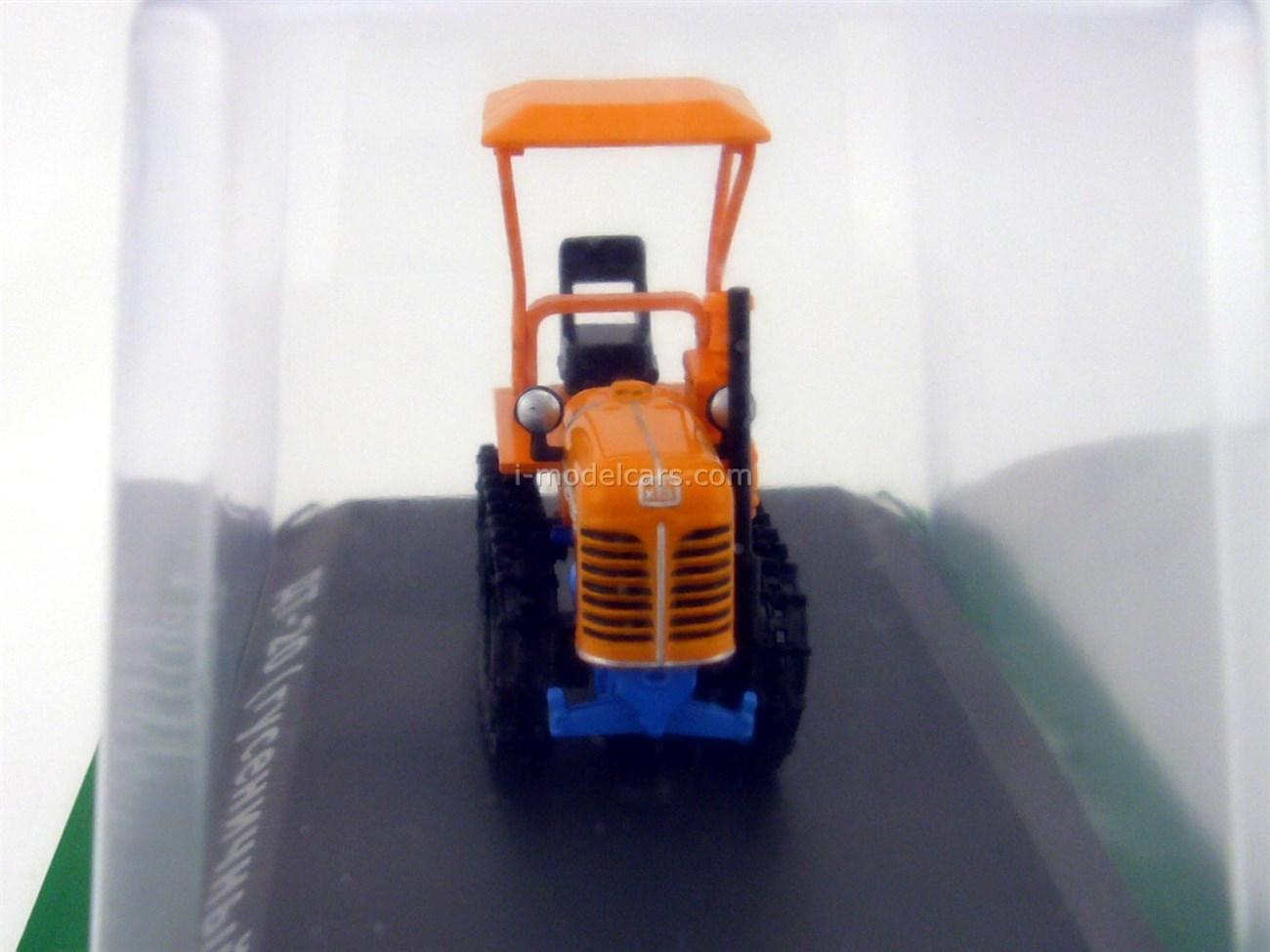 Tractor DT-20 crawler 1:43 Hachette #71