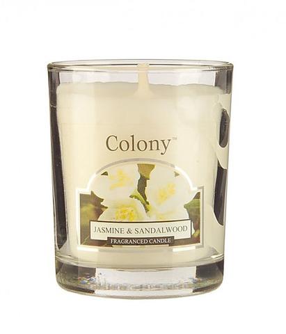 Свеча ароматическая лампадная Жасмин и сандаловое дерево, Wax Lyrical