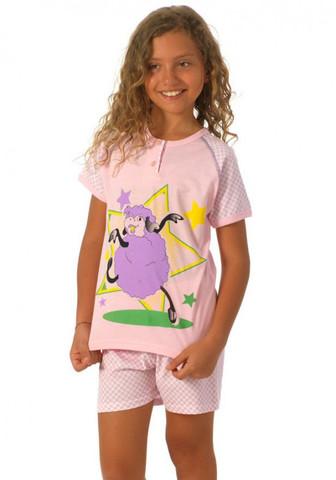 Легкая пижамка для девочки