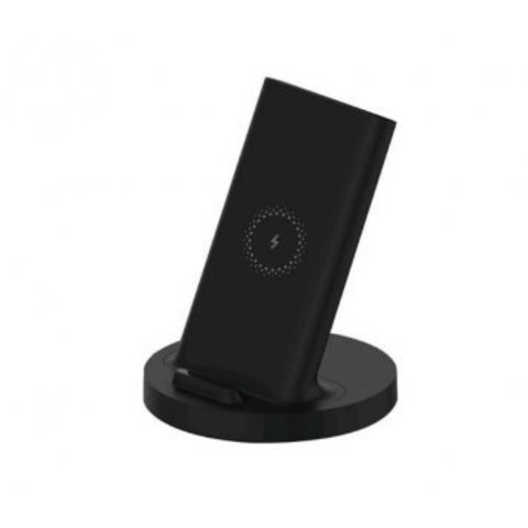 XiaoMI Беспроводная зарядка Vertical universal wireless charger 20W /black/