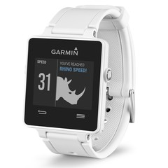 Спортивные часы Garmin Vivoactive белые (с датчиком) 010-01297-11