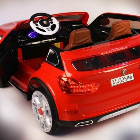 Детский электромобиль Rivertoys М 333 ММ красный