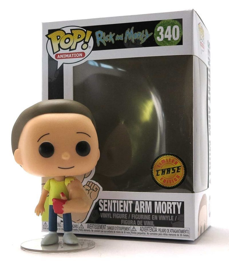Funko Pop Vinyl Sentient Arm Morty