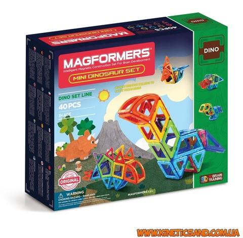 Magformers Маленькие динозавры, 40 элементов