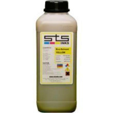 Экосольвентные (Eco-Solvent) чернила STS EcoSOL MAX, жёлтые (Yellow), 1000 мл
