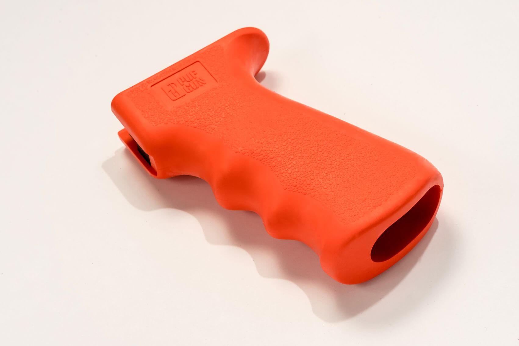 Пистолетная рукоятка Pufgun прорезиненная, оранжевый