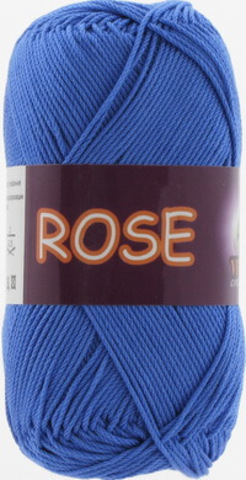Пряжа Rose (Vita cotton) 3931 Ярко-синий