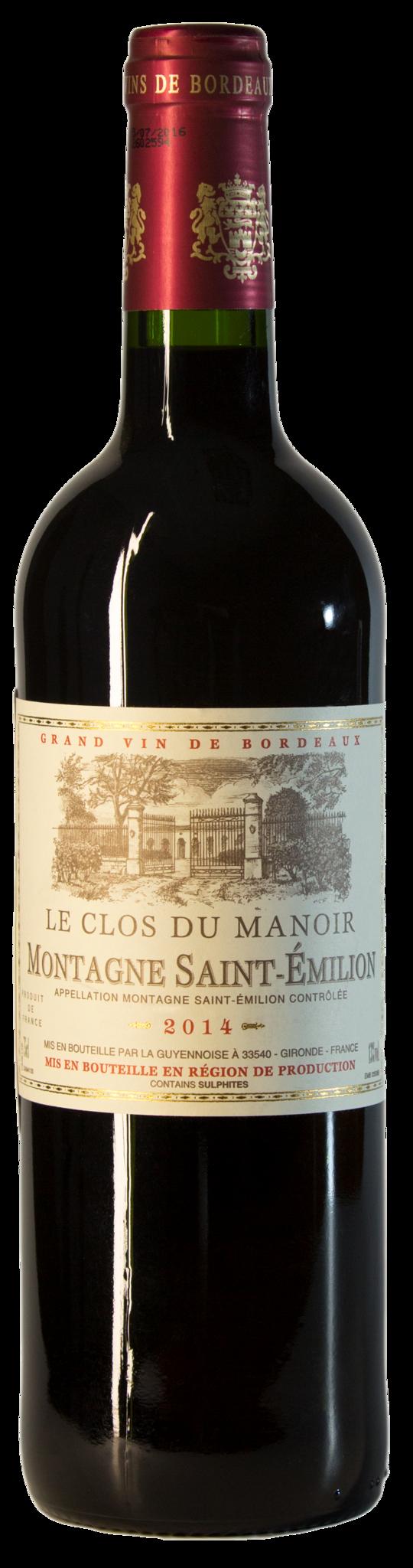 Le Clos du Manoir AOC Saint-Emilion