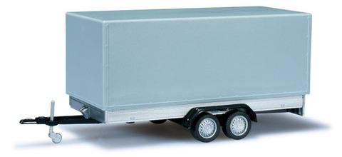 Herpa 052627-002 2-х осный грузовой прицеп для легкового автомобиля, НО