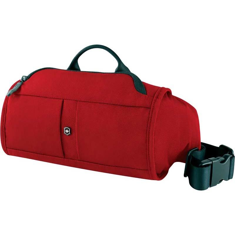 Сумка на пояс Victorinox Lumbar Pack, с системой защиты RFID, красный, 27x7x15 см, 3 л