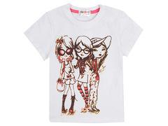 702-3 футболка детская, белая