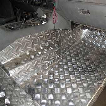 Обшивка алюминием: обшивка кузова и салона алюминием фото-1