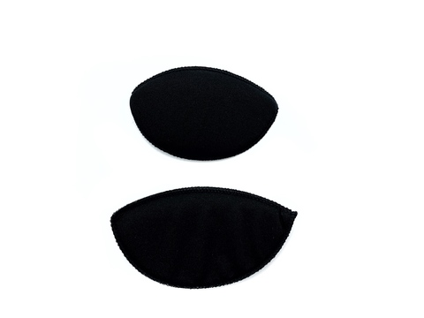 Вкладыши бельевые чёрные размер №1 (1 пара)