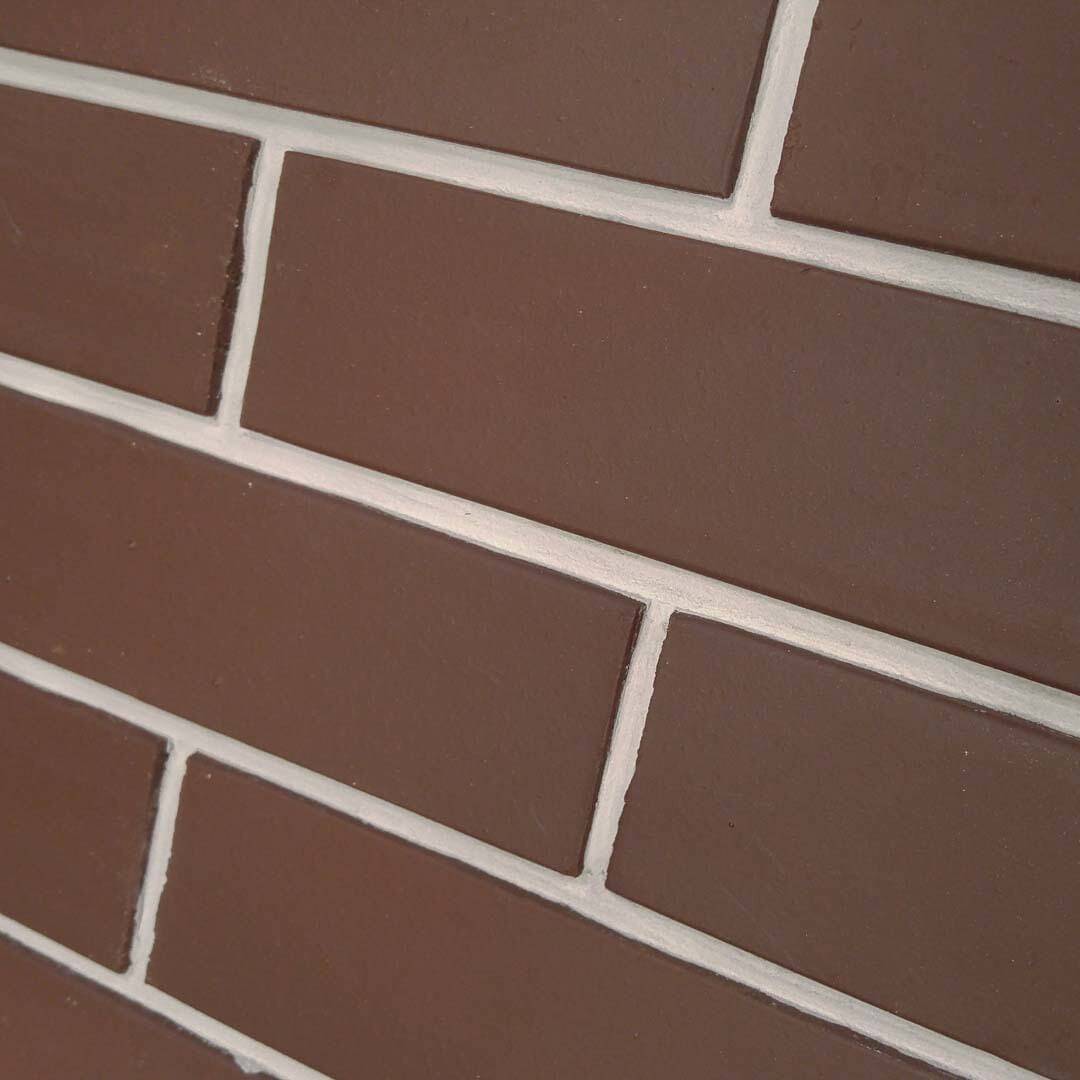 Фасадная плитка под кирпич Москлинкер, MSK-22, braun