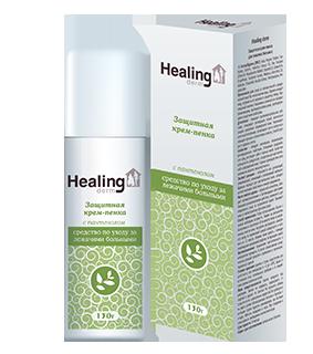 Healing derm защитная крем-пенка с пантенолом 130 г