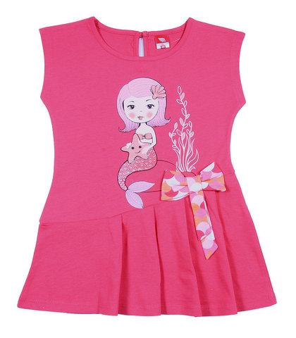 Cherubino Платье ясельное CAK62060 малиновое