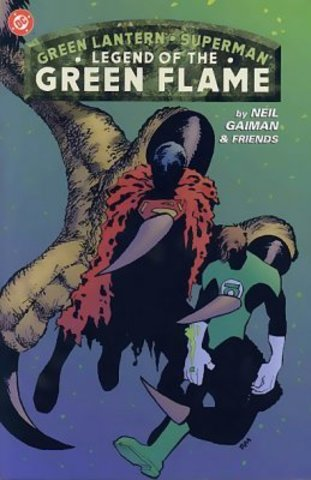 Green Lantern & Superman: Legend of the Green Flame TPB