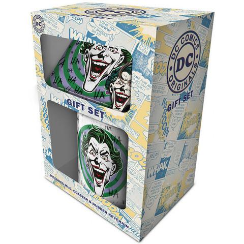Набор Pyramid: DC: The Joker (HaHaHa) Кружка+Подставка+Брелок GP85148
