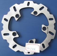 Тормозной диск задний для мотоцикла Yamaha YZF R6 03-07, YZF-R1 04-06