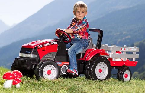Детский педальный трактор Peg Perego Maxi Diesel Tractor IGCD0551