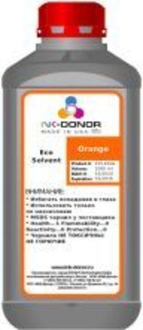 Экосольвентные (Eco-Solvent) чернила STS EcoSOL MAX, оранжевые (Orange), 1000 мл