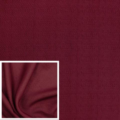 Канвас - ткань для штор - бордовый. Ширина - 280 см. Арт. 1