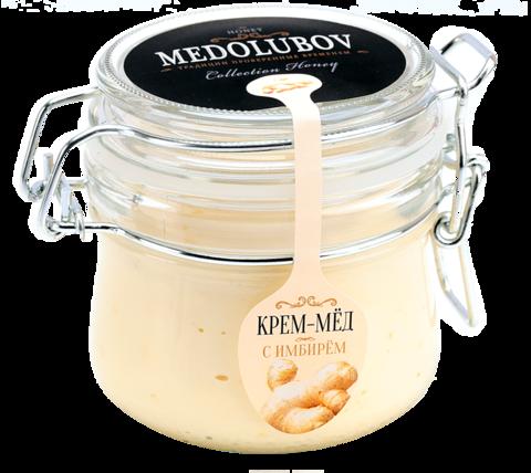 Крем-мед с Имбирем (Бугельная банка) 230 гр