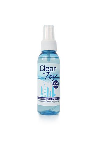 Очищающий спрей  ''CLEAR TOY'' с антимикробным эффектом  100 мл