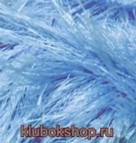 Пряжа Decofur (Alize) 40 Голубой