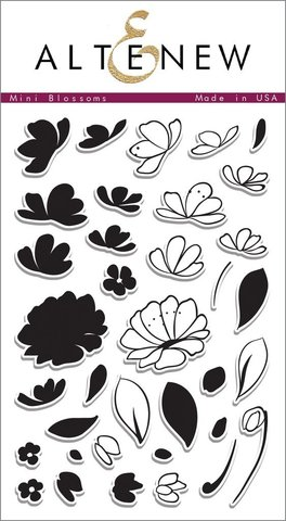 Набор штампов Mini Blossoms Stamp Set