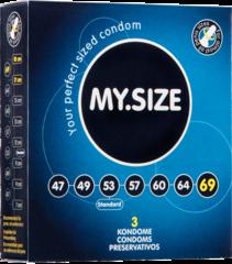 Презервативы MY.SIZE размер 69 - 3 шт.