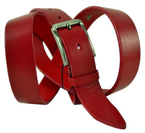 Ремень узкий брючный кожаный 30 мм BS Profi 30BS-015