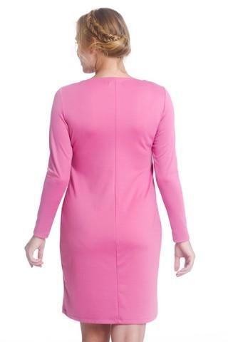 Платье 07962 розовый